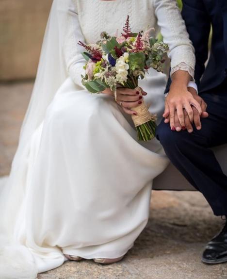Mejores ramos de novia: ramo de Alfabia Flores