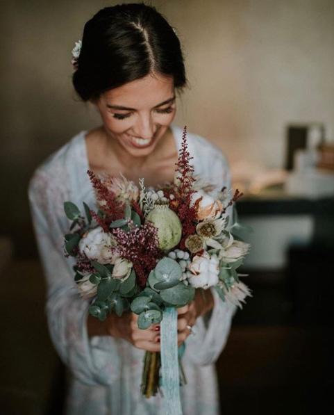 Mejores ramos de novia: ramo de flores para una boda en otoño